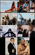 "Movie Posters:James Bond, Never Say Never Again (Warner Brothers, 1983). Spanish Lobby CardSet of 12 (11"" X 14""). James Bond.. ... (Total: 12 Items)"