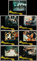 "Movie Posters:James Bond, Diamonds are Forever (United Artists, 1971). Lobby Cards (7) (11"" X 14""). James Bond.. ... (Total: 7 Items)"