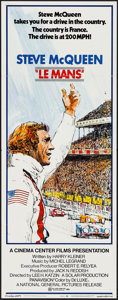 """Movie Posters:Sports, Le Mans (National General, 1971). Insert (14"""" X 36""""). Sports.. ..."""