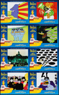 "Movie Posters:Animation, Yellow Submarine (United Artists, R-1999). International Lobby CardSet of 8 (11"" X 14""). Animation.. ... (Total: 8 Items)"