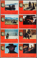 """Movie Posters:Western, High Plains Drifter (Universal, 1973). Lobby Card Set of 8 (11"""" X 14""""), Photos (2) (8"""" X 10""""), Pressbooks (2) Identical (9 P... (Total: 12 Items)"""