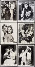 """Movie Posters:Adventure, Soldier of Fortune (20th Century Fox, 1955). Photos (76) (approx.8"""" X 10"""") & Trimmed Photo (7.5"""" X 10""""). Adventure.. ... (Total:77 Items)"""