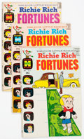 Bronze Age (1970-1979):Humor, Richie Rich Fortunes #1-63 Complete Series Group (Harvey, 1971-82)Condition: Average VF/NM.... (Total: 63 Comic Books)