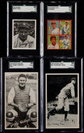 Baseball Cards:Lots, 1930's Goudey/National Chicle Graded Group (4). ...