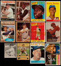 Baseball Cards:Lots, 1911-1980 Baseball Card Collection (28) With Stars and HoFers....