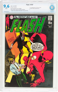 The Flash #197 (DC, 1970) CBCS NM+ 9.6 White pages