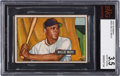 Baseball Cards:Singles (1950-1959), 1951 Bowman Willie Mays #305 BVG VG+ 3.5....