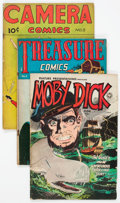 Golden Age (1938-1955):Miscellaneous, Comic Books - Assorted Golden Age Comics Group of 9 (Various Publishers, 1940s-50s) Condition: Average GD.... (Total: 9 Comic Books)