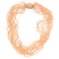 Estate Jewelry:Necklaces, Coral, Gold Necklace, Gumps. ...