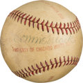 Autographs:Baseballs, 1940-42 Connie Mack Single Signed Baseball....