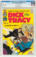 Silver Age (1956-1969):Mystery, Dick Tracy Comics Monthly #138 File Copy (Harvey, 1960) CGC NM- 9.2Cream to off-white pages....