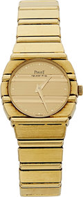 Estate Jewelry:Watches, Piaget Lady's Gold Polo Watch. ...