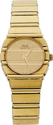 Piaget Lady's Gold Polo Watch
