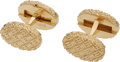Estate Jewelry:Cufflinks, Gold Cuff Links. . ... (Total: 2 Items)