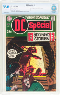 DC Special #4 (DC, 1969) CBCS NM+ 9.6 White pages