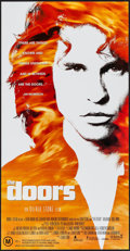 "Movie Posters:Rock and Roll, The Doors (Tri-Star, 1991). Australian Daybill (13.25"" X 25.5"").Rock and Roll.. ..."