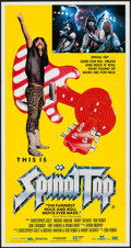 "Movie Posters:Rock and Roll, This is Spinal Tap (Embassy, 1984). Australian Daybill (13.25"" X25""). Rock and Roll.. ..."