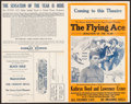 "Movie Posters:Black Films, The Flying Ace & Others Lot (Norman, 1926). Uncut Pressbooks(2) (4 Pages, 14"" X 22"") & Marketing Sheet (4 Pages, 9.5"" X11""... (Total: 3 Items)"