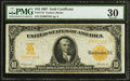 Large Size:Gold Certificates, Fr. 1172 $10 1907 Gold Certificate PMG Very Fine 30.. ...