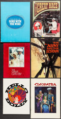 "Movie Posters:Academy Award Winners, Gone with the Wind & Others Lot (MGM, R-1967). Programs (11)(Multiple Pages, 8.25""-9.5"" X 11""-13.5""). Academy Award Winners...(Total: 11 Items)"