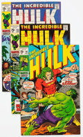 Bronze Age (1970-1979):Superhero, The Incredible Hulk Group of 87 (Marvel, 1969-79) Condition:Average VF.... (Total: 87 Comic Books)