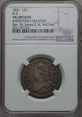 Bust Quarters, 1821 25C B-4, R.3, -- Improperly Cleaned -- NGC Details. VG EX: Rev. Dr. James G. K. McClure. PCGS Popul...