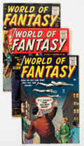 Silver Age (1956-1969):Horror, World of Fantasy #10-12 Group (Atlas, 1958).... (Total: 3 ComicBooks)