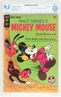 Silver Age (1956-1969):Cartoon Character, Mickey Mouse #102 File Copy (Gold Key, 1965) CBCS NM- 9.2 Off-white pages....