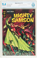 Silver Age (1956-1969):Superhero, Mighty Samson #6 File Copy (Gold Key, 1966) CBCS NM 9.4 Off-white to white pages....