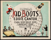 """Kid Boots (Paramount, 1926). Title Lobby Card (11"""" X 14""""). Comedy"""