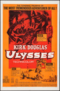 "Movie Posters:Adventure, Ulysses & Other Lot (Paramount, R-1960). One Sheets (2) (27"" X41""), Insert (14"" X 36""), & Lobby Cards (2) (11"" X 14"").Adve... (Total: 5 Items)"