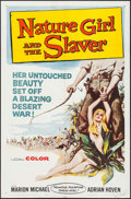 "Movie Posters:Adventure, Nature Girl and the Slaver (United Producers, 1959). One Sheet (27""X 41"") & Lobby Cards (2) (11"" X 14""). Adventure.. ... (Total: 3Items)"
