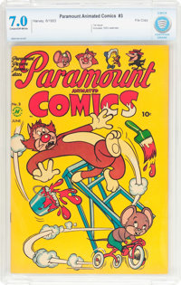 Paramount Animated Comics #3 File Copy (Harvey, 1953) CBCS FN/VF 7.0 Cream to off-white pages