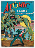 Golden Age (1938-1955):Horror, Atomic Comics #2 (Green Publishing Co., 1946) Condition: FN....