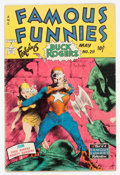 Golden Age (1938-1955):Science Fiction, Famous Funnies #211 (Eastern Color, 1954) Condition: Incomplete....