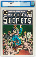 Bronze Age (1970-1979):Horror, House of Secrets #107 (DC, 1973) CGC NM 9.4 Off-white to whitepages....