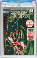 Bronze Age (1970-1979):Horror, House of Secrets #93 (DC, 1971) CGC NM+ 9.6 White pages....