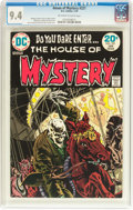 Bronze Age (1970-1979):Horror, House of Mystery #221 (DC, 1974) CGC NM 9.4 Off-white to whitepages....