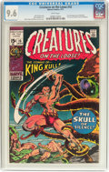 Bronze Age (1970-1979):Horror, Creatures on the Loose #10 (Marvel, 1971) CGC NM+ 9.6 Whitepages....