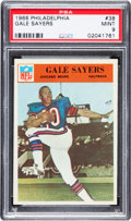 Football Cards:Singles (1960-1969), 1966 Philadelphia Gale Sayers #38 PSA Mint 9....