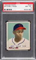 Baseball Cards:Singles (1940-1949), 1949 Bowman Satchell Paige #224 PSA NM-MT 8....