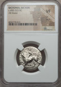 Ancients:Greek, Ancients: SICYONIA. Sicyon. Ca. 400-323 BC. AR stater. NGC VF,scuff...