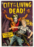 Golden Age (1938-1955):Horror, City of the Living Dead nn (Avon, 1952) Condition: GD/VG....