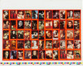 "Non-Sport Cards:Sets, 1975 Topps Test ""Shock Theatre"" Complete Set (55) Uncut Sheet/. ..."