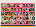 "Non-Sport Cards:Sets, 1971 Topps Test ""Getting Together"" with Bobby Sherman Complete SetUncut Sheet! ..."