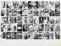"Non-Sport Cards:Sets, 1964 Topps ""Johnson/Goldwater"" Complete Set (66) Uncut Sheet. ..."