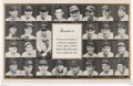 Baseball Collectibles:Others, 1943 United States War Bond Citation Poster with Major LeagueBaseball Stars....