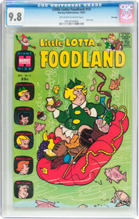 Little Lotta Foodland #14 File Copy (Harvey, 1967) CGC NM/MT 9.8 Off-white to white pages