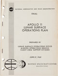 Explorers:Space Exploration, Apollo 11 Final Lunar Surface Operations Plan Book....