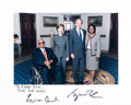 Autographs:Others, 2000's President George W. Bush & First Lady Laura Bush Signed Photograph from The Monte Irvin Collection.. ...